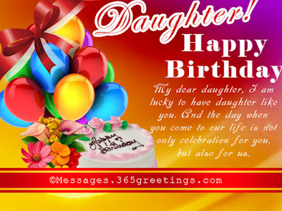 happy birthday wishes to daughter from father