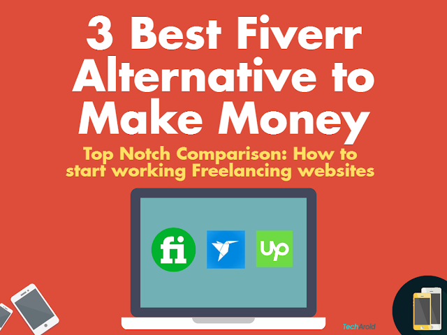 3 best fiverr alternative