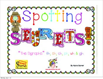 "Secret Stories® Phonics ""Spotting Secrets!"" (The Digraph Secrets)"