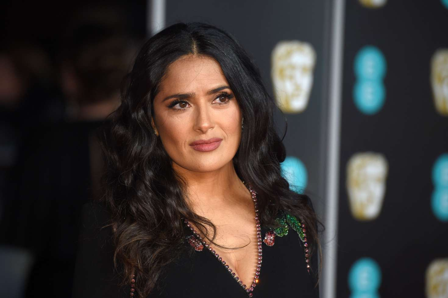 Salma Hayek Looks So Hot