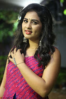 Srushti in beautiful Pink Sleeveless Dress Cute Actress Dimples ~  Exclusive 014.JPG