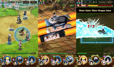 NARUTO SHIPPUDEN: Ultimate Ninja Blazing (Japan) Apk