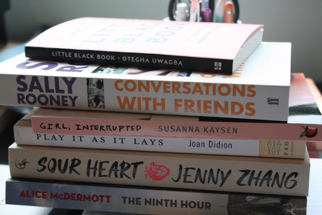 August Book Mail