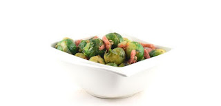 Brussels Sprouts Italian Style with Bacon