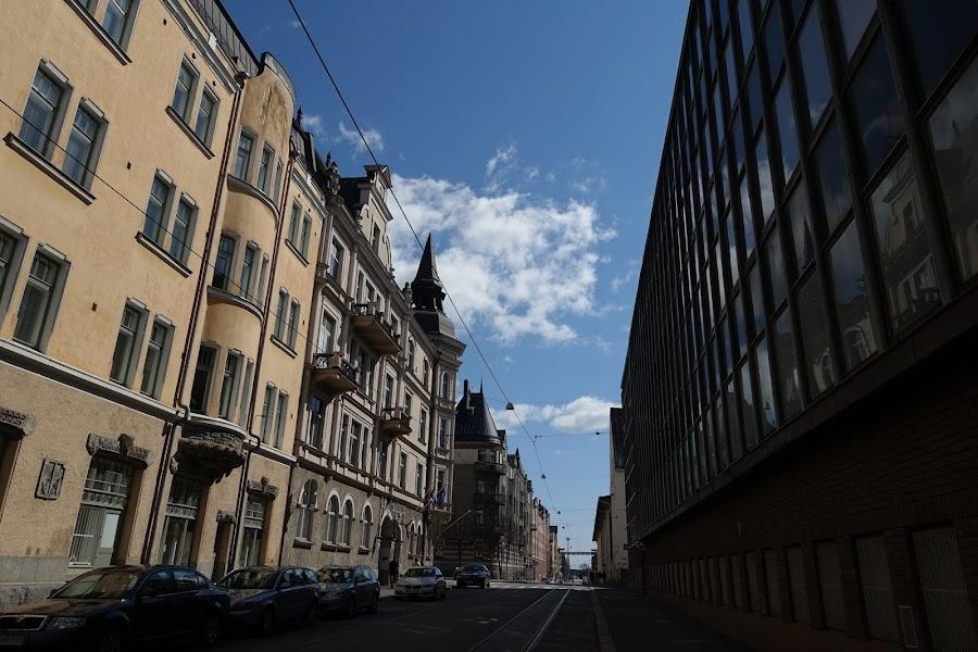 Kruunuvuorenkatu通り