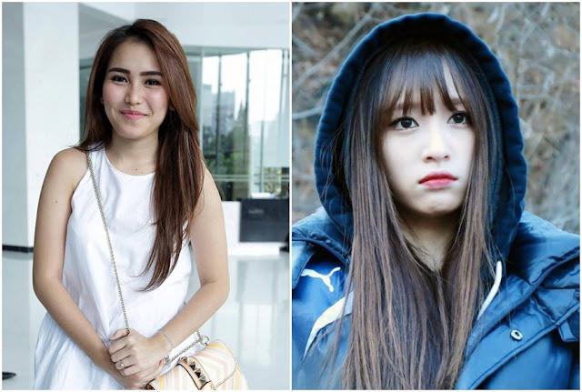"""Ayu Ting Ting & Hani """"EXID"""" (kelahiran 1992)"""