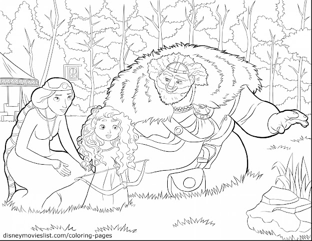 Marvelous Disney Infinity Coloring Pages With Brave Coloring Pages