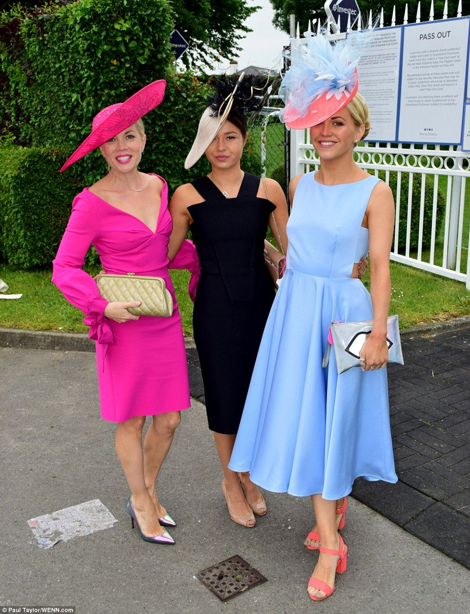 2018 investec epsom derby fashion