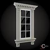 ornamente geamuri fatade pentru casecu profile polistiren win-014