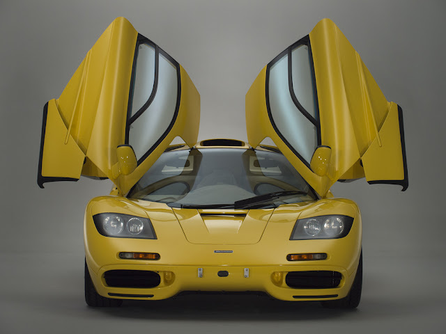 McLaren F1 Dandelow Yellow