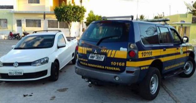 Em Ouro Branco, PRF recupera veículo clonado na BR 423
