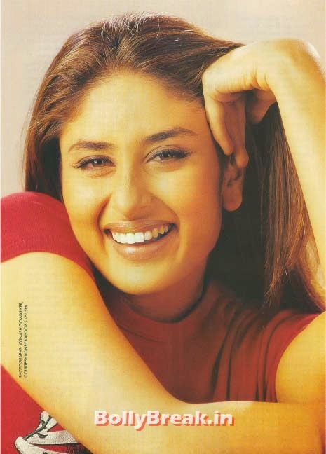 Kareena kapoor smiling photo, Hot Unseen Pics of Kareena Kapoor from Early Days of her Career