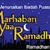 Desain spanduk ramadhan 1437 h - blue simple