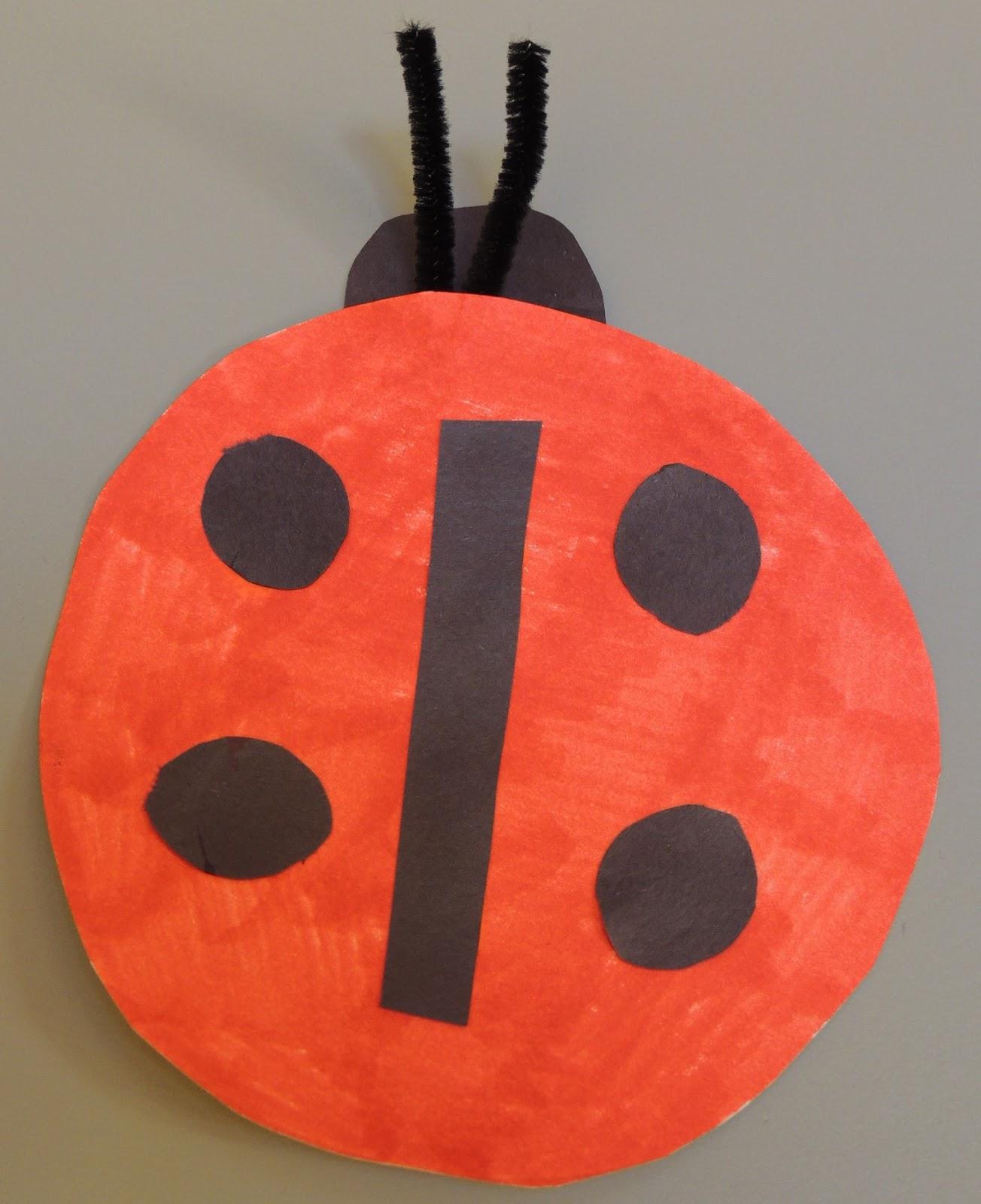 Child Care Basics Resource Blog: Paper Plate Ladybug