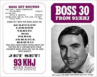KHJ Boss 30 No. 87 - Bobby Tripp