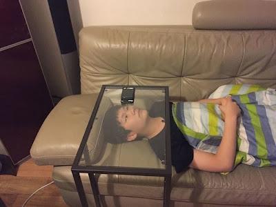 Perezoso o genio invento improvisado