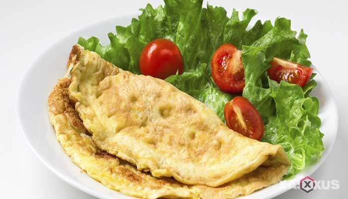 Resep cara membuat omelet telur
