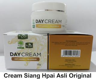 Day Cream HPAI Cara Perawatan Kulit Wajah Siang Hari Cegah Radikal Bebas