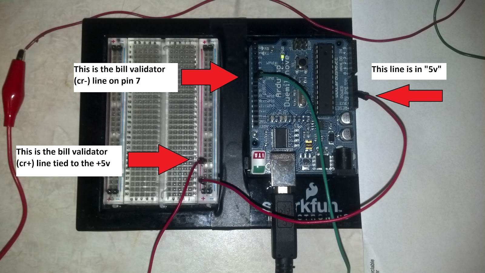 Arduino Vending Machine: 2  Accepting Dollar Bills | Fun