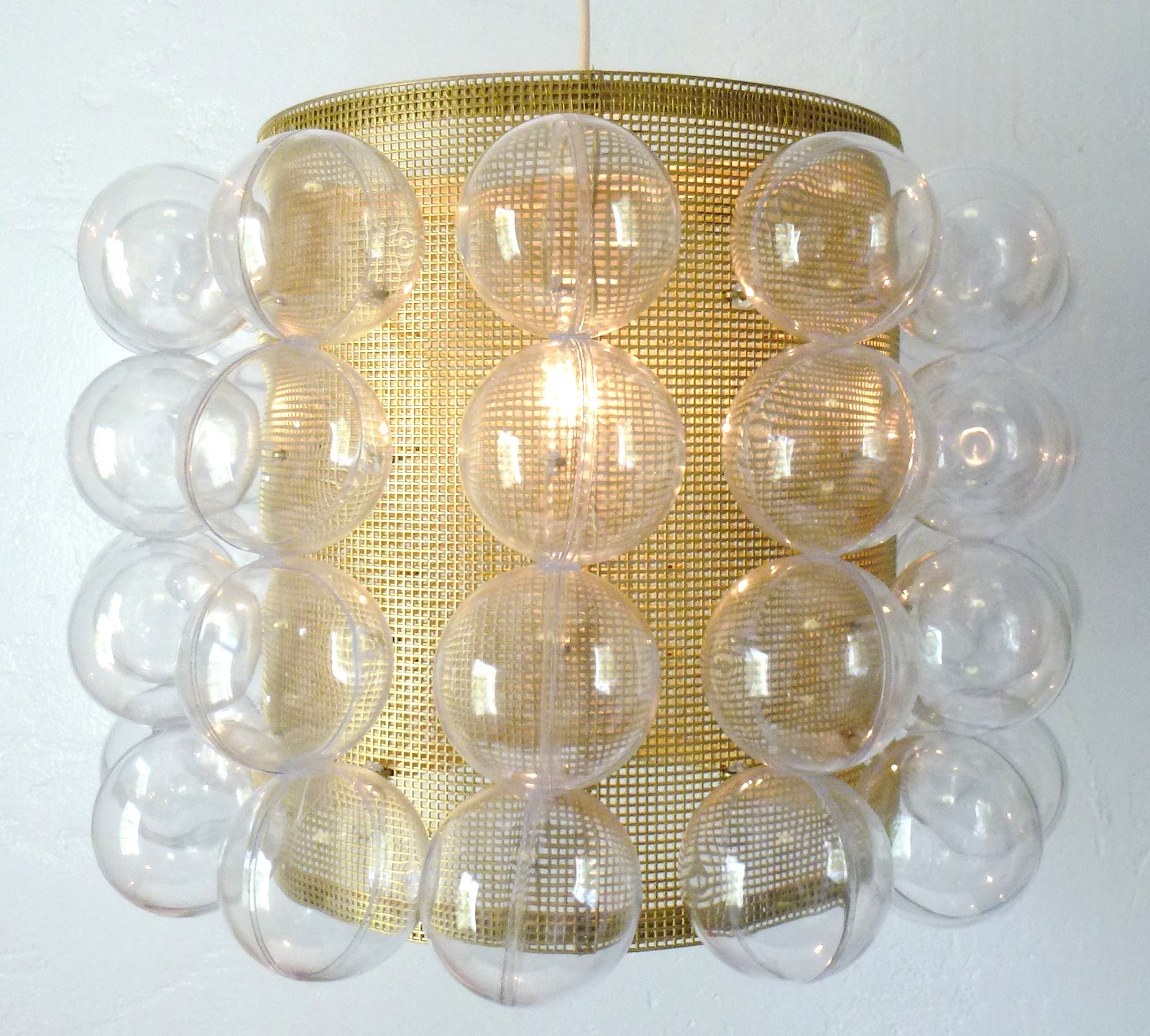 Adventures Of An Almost 40 Year Old Intern D I Why Not Mod Bubble Pendant Light