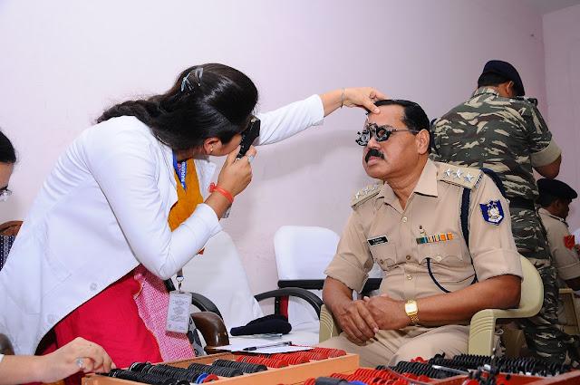 Narayana Nethralaya organizes a special Eye Screening Programme for CRPF Jawans