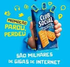 Promoção Club Social Parou Perdeu - Cadastro