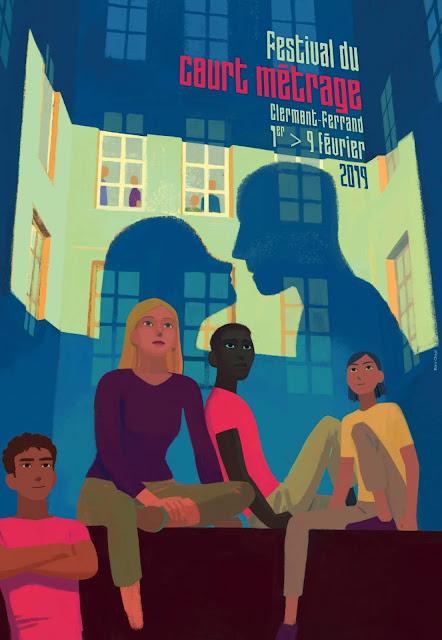 affiche du FESTIVAL DU COURT METRAGE 2019 de Clermont-Ferrand