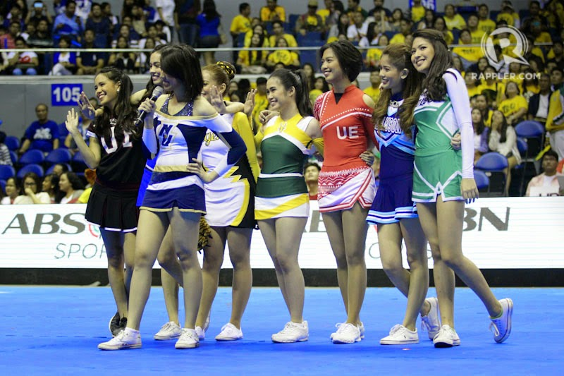 UAAP Cheerdance Competition 2014 Live Stream, Performance
