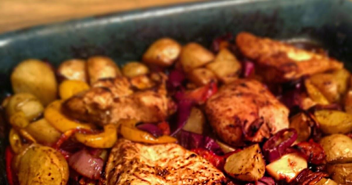 Sugar Pink Food Recipe Slimming World Friendly Easy Peasy Chicken Bake
