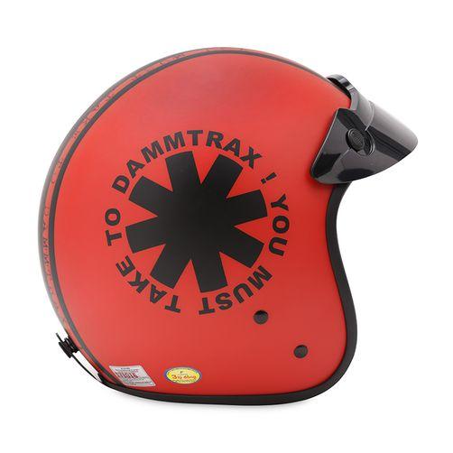 Mũ bảo hiểm 3/4 CT1-DAMMTRAX