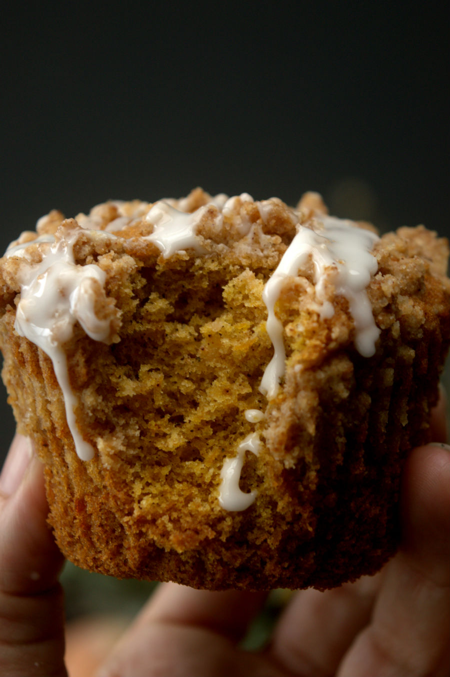Top 10 Superalimentos: La Calabaza-Receta de Muffins de Calabaza con Streusel