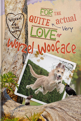 For the quite (very) actual love of Worzel Wooface by Catherine Pickles - Hubble and Hattie