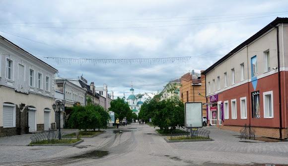 Сумы. Исторический центр. Пешеходные улицы