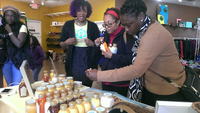 Honey Baby Naturals Pop-Up shop Indianapolis - ClassyCurlies
