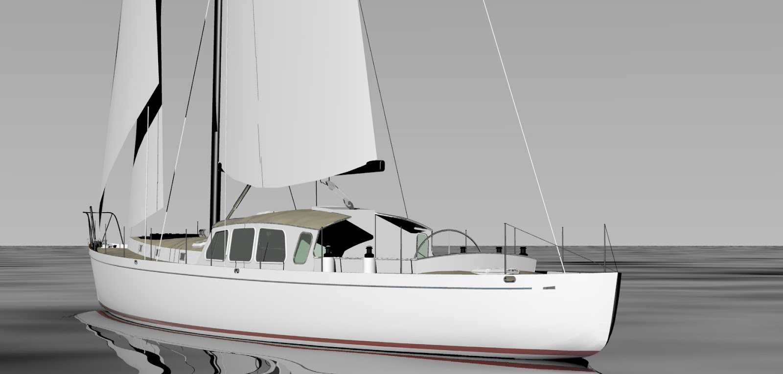 Tanton yacht design boat design of the month march 2016 for William garden sailboat designs