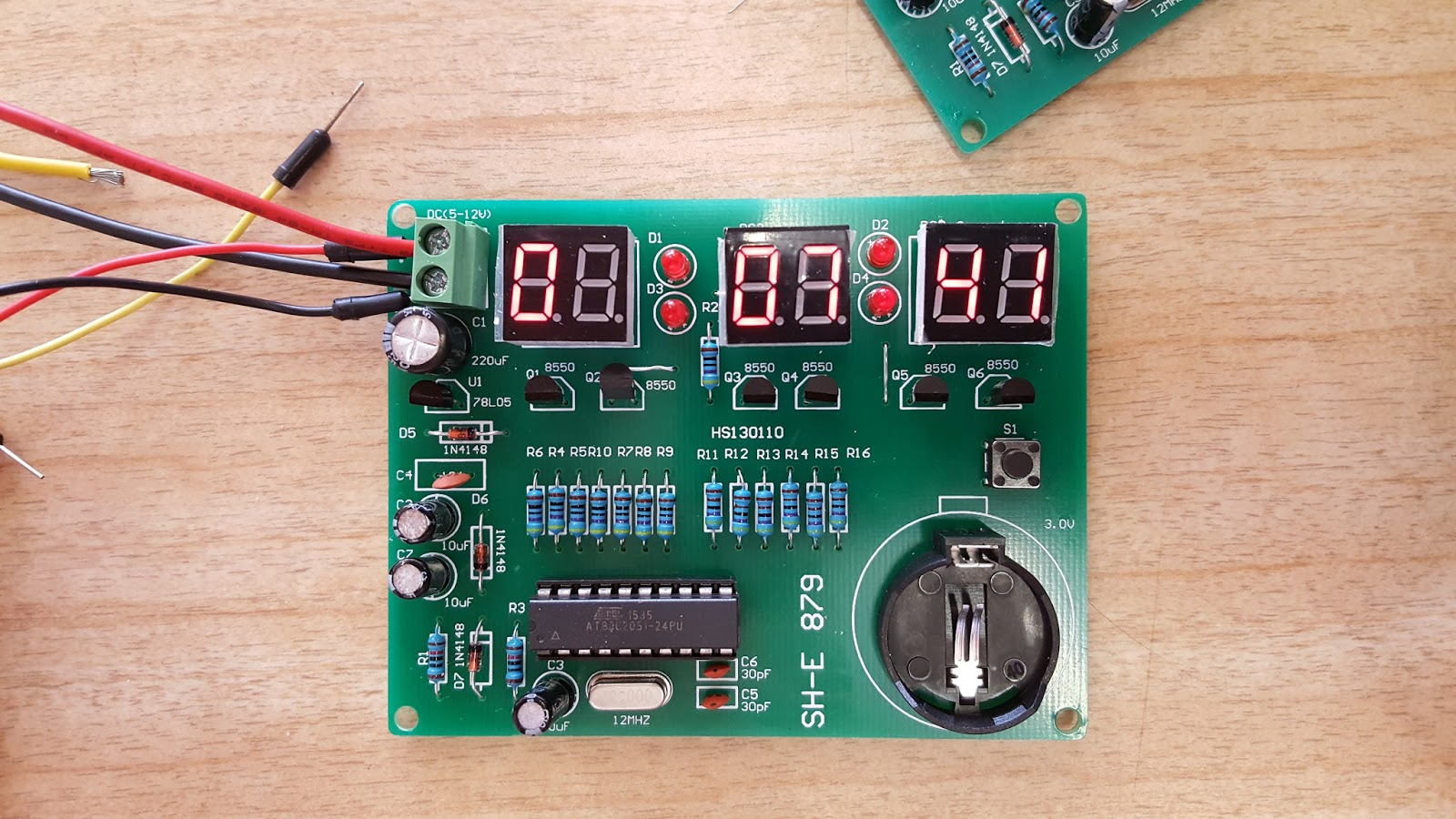 An Arduino Based Programmer For The At89c2051 Chip Ceptimus Digital Tachometer Using 8051 Electronic Circuits And Diagram I Wanted To Reprogram So Could Use Kit As A Stopwatch Timer Instead Of Regular Clock Course Have Bought Do