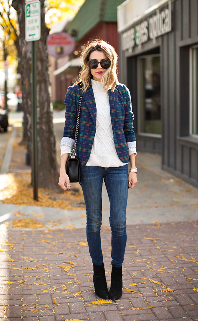 2a163422cd Target Real Talk Test Drive  4 Tips to Style a Plaid Blazer