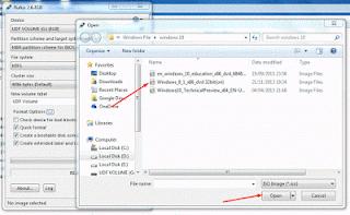 Cara Membuat Bootable Windows Melalui Flashdisk dengan Rufus | carabaru.net