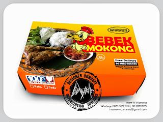 packaging bebek goreng