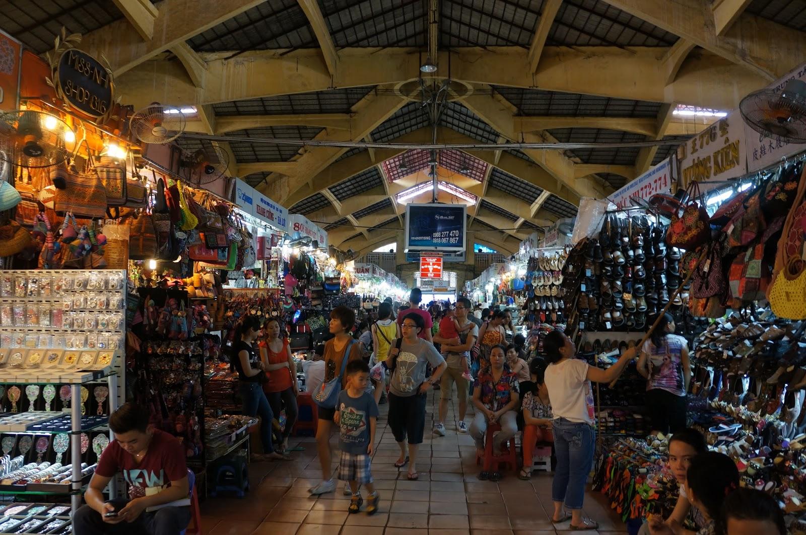 Ben Thanh Market Interior