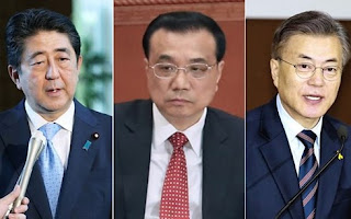 The seventh Korea-Japan summit will be held in Japan next week