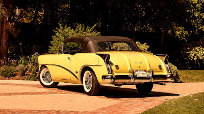 1954 Buick Skylark Convertible Rear Left