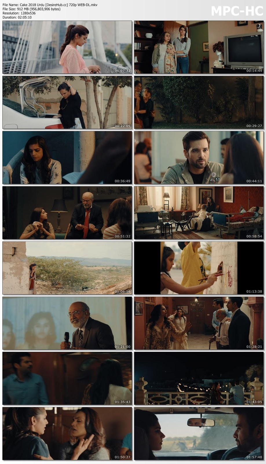 Cake 2018 Urdu 480p WEB-DL 350MB Desirehub