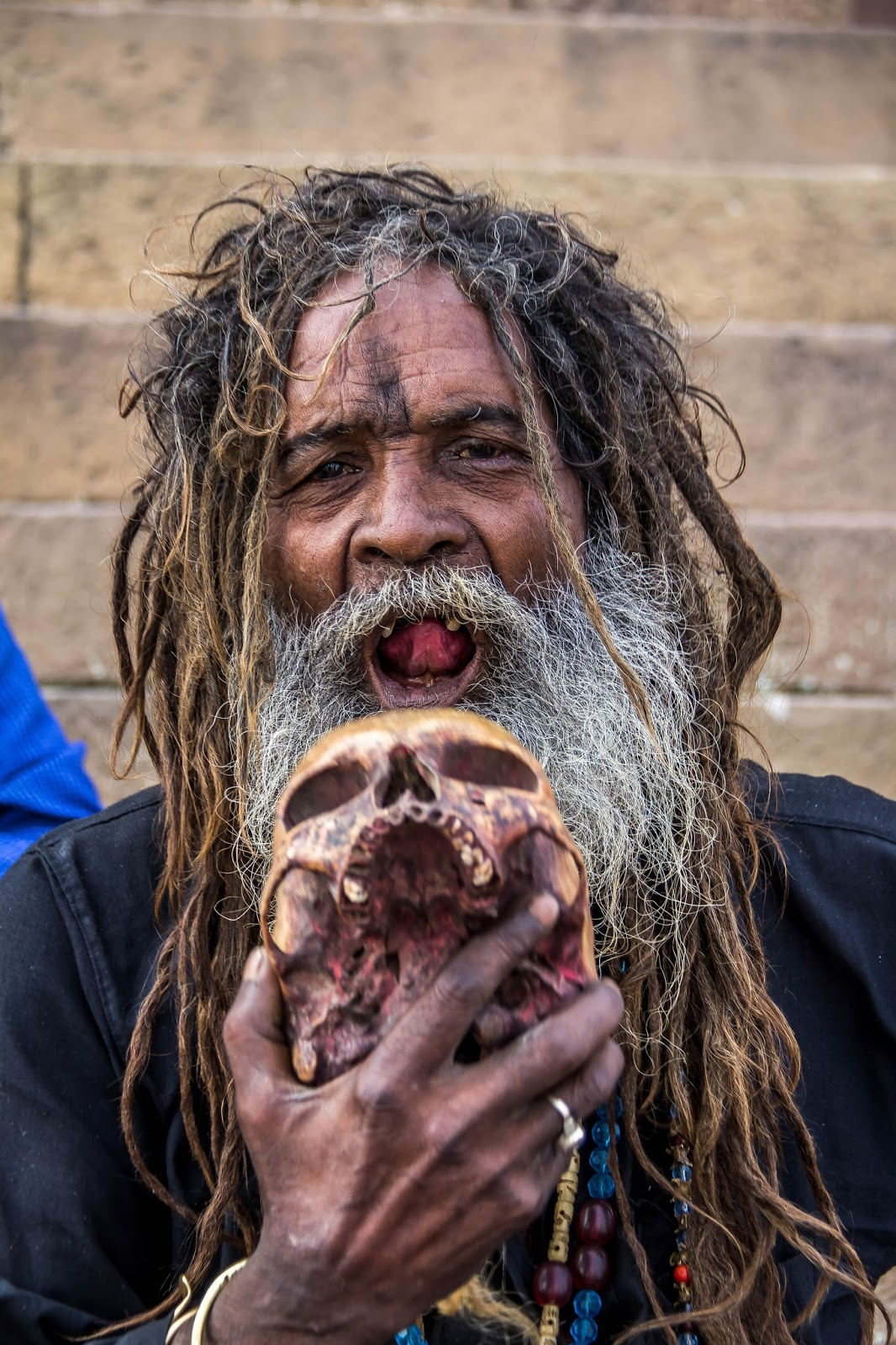 the aghori The cnn host reza aslan found out what human brains taste like.