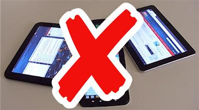 Waktu-waktu yang dilarang menggunakan gadget