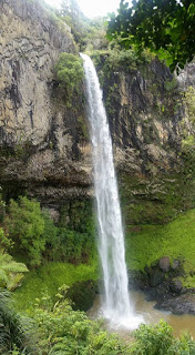 New Zealand water falls