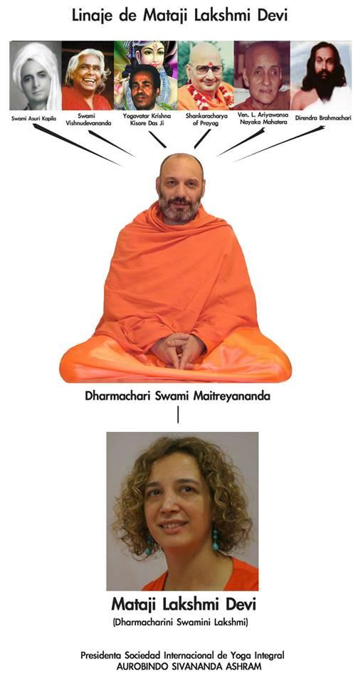 El linaje que nos transmite Dharmachari Swami Maitreyananda a través de  Mataji Lakshmi Devi 3770202a29f2