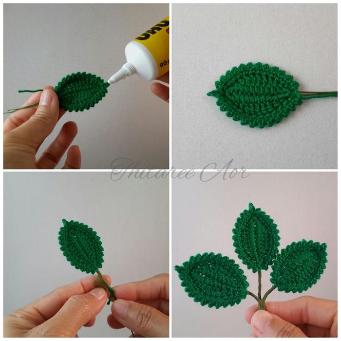 Crochet Rose Pattern Step By Step : ergahandmade: Crochet Roses + Diagrams + Pattern Step By Step