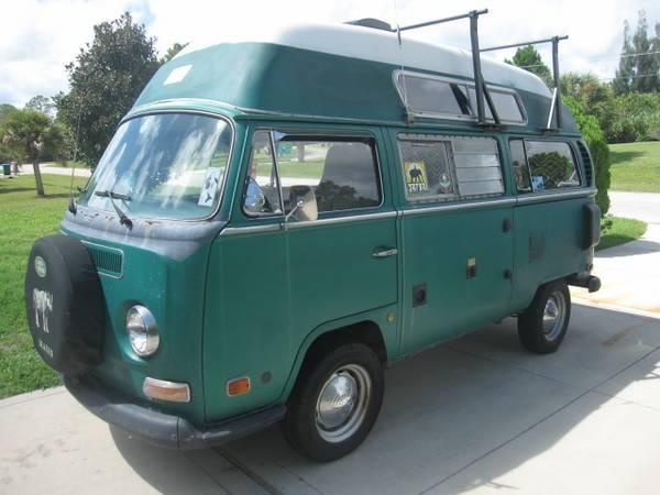 1970 VW Sundial Hightop Camper