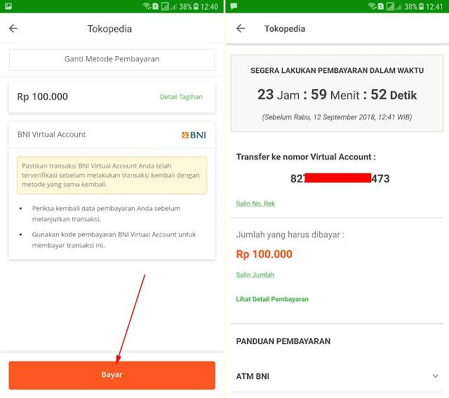 Cara Membeli Paket Data Internet di Tokopedia via Aplikasi 13